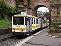 Řím, Porta Maggiore, úzkorozchodná elektrická jednotka.jpg