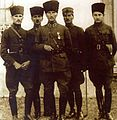 Şükrü Ali, Salih, Mustafa Kemal, İsmail Hakkı and Muzaffer at Izmit.jpg