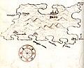 Χάρτης της νήσου Παγκ (Κροατία) - Millo Antonio - 1582-1591.jpg