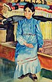 Девлеткильдеев Девушка-башкирка в голубом.jpg