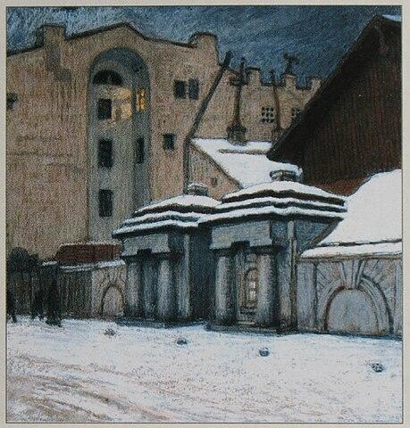 Уголок Петербурга. 1904