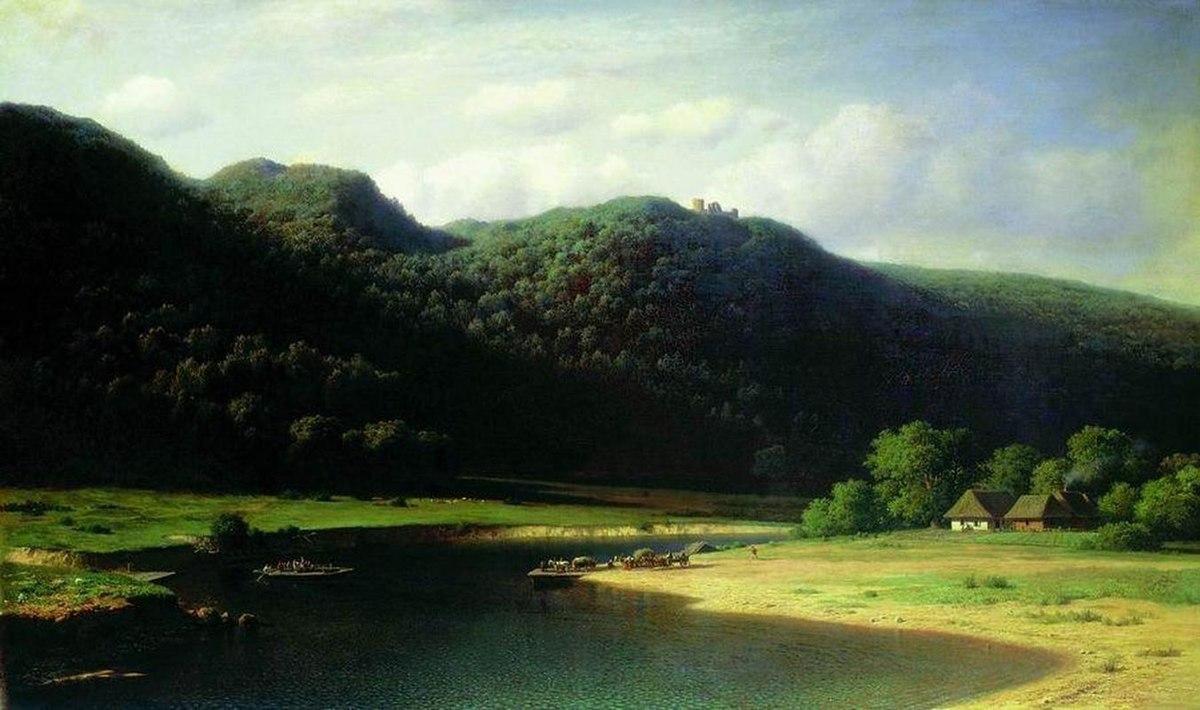 Долина реки Аа в Лифляндии. Клодт.jpeg