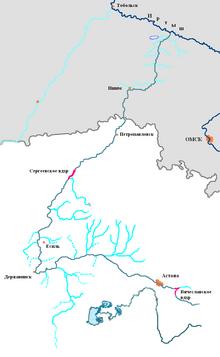 Река исеть схема протекания фото 723