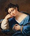 И. Олешкевич. Портрет женщины в синей шали. 1814 (cropped).jpg