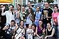 """Коллектив """"Театра равных"""" в Мюнхене, июнь 2015.jpg"""
