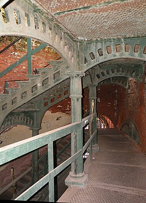 Fort Alexander (Saint Petersburg) - Interior view of Fort Alexander