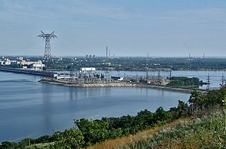 Saratov Hydroelectric Station hydroelectric power station
