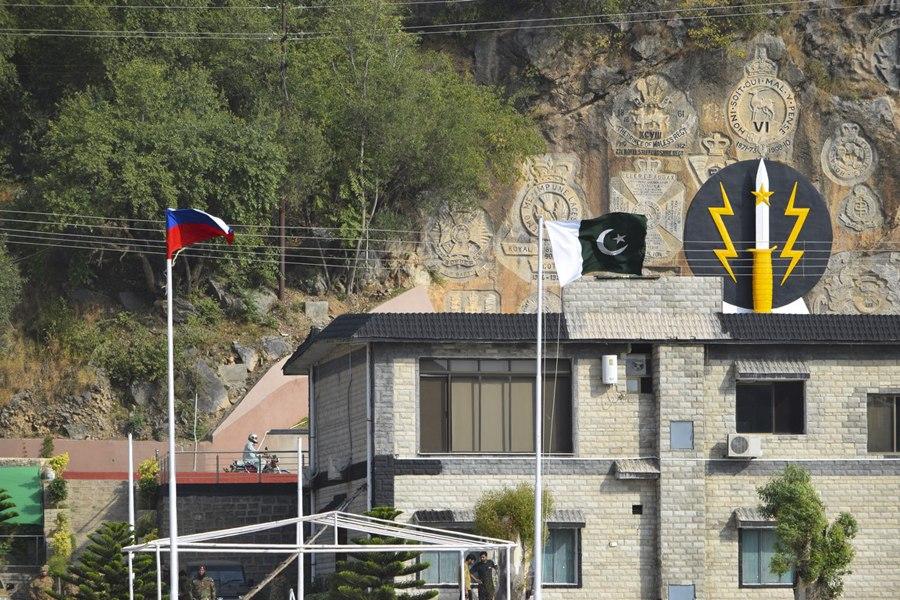 Тренировка по десантированию из вертолетов военнослужащих России и Пакистана на учении «Дружба-2016» (4)