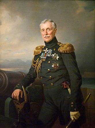 Alexander Sergeyevich Menshikov - Image: Франц Крюгер портрет князя А. С. Меншикова