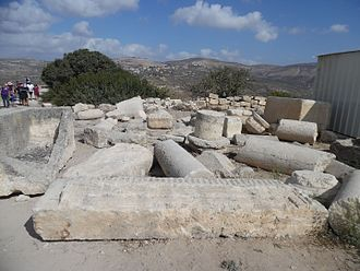 Sebastia, Nablus - Ancient Samaria in Sebastia National Park