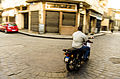 حركة دراجة فى شارع المعز.JPG