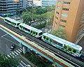 仁愛復興路口捷運文湖線/MRT Wenhu Line at Ren'ai-Fuxing ITC. - panoramio.jpg