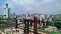 台中鐵路高架化2014年8月台中車站周邊工程.jpg
