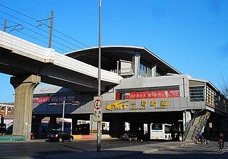 Yihaoqiao station metro station in Tianjin, China