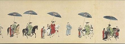 琉球から江戸への使節