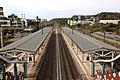 由台鐵香山車站月台天橋上向三姓橋方向看.jpg
