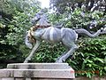 白羽神社の神馬像 - panoramio.jpg