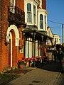 -2018-11-17 Decorative ironwork shop front, High street, Overstrand (1).JPG