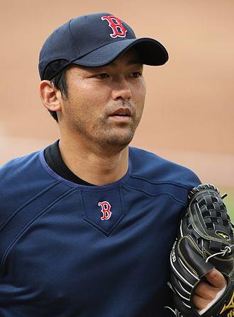 Takashi Saito - Saito with the Boston Red Sox