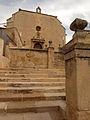 006 Bellpuig, escalinata i església de Sant Nicolau.jpg