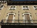 010 Fòrum Berger Balaguer, rambla de Nostra Senyora 6 (Vilafranca del Penedès), balcó.jpg