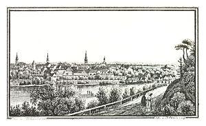 Bad Radkersburg - Radkersburg about 1830