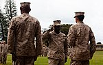 1-12 sergeant major takes over Headquarters Battalion 120321-M-JR941-002.jpg