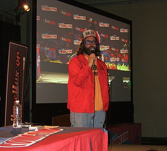 Judah Friedlander - Friedlander at the CollegeHumor presentation at the 2012 New York Comic Con