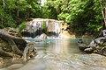 1012 - Erawan Waterfall 2nd floor has a wooden face to face.jpg