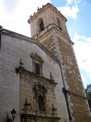 Benassal - The parish church of the Assumption