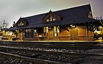 Brunswick station (Maryland) - Image: 1102 Brunswick Maryland station edit