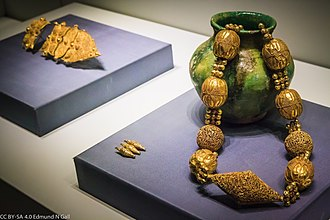 Caesarea - 11th Century (Fatimid Period) jewelry from Caesarea