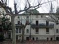 124 Hostal Parc (Arbúcies), façana del jardí.jpg