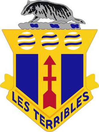 128th Infantry Regiment (United States) - Image: 128 Inf Rgt DUI