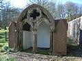 13th Century Ecclesiastical stonework folly - geograph.org.uk - 762909.jpg