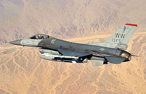 13th Fighter Squadron - Image: 13th Fighter Squadron Lockheed F 16C Block 50P Fighting Falcon 92 3913