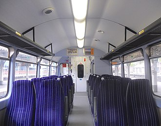 British Rail Class 144 - Image: 144010 DMSO Internal