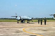 147th Fighter Wing RC-26B Intelligence Surveillance Reconnaissance aircraft