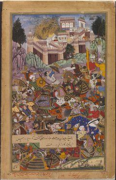 https://upload.wikimedia.org/wikipedia/commons/thumb/e/e6/1561-The_Capture_of_Fort_Mertha_in_Rajasthan-Akbarnama.jpg/240px-1561-The_Capture_of_Fort_Mertha_in_Rajasthan-Akbarnama.jpg