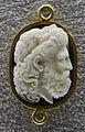 158 arte ellenistica, giove dodoneo, III sec. ac., calcedonio.JPG