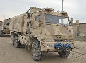 Rheinmetall MAN Military Vehicles YAK - Image: 1635440 crop