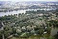 178R18270888 Blick vom Donauturm, Blick Richtung Kagran, im Hintergrund links Rinterzelt, Alte Donau,.jpg
