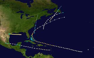 1866 Atlantic hurricane season hurricane season in the Atlantic Ocean