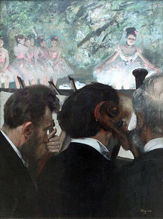 Louis-Marie Pilet - Image: 1872 Degas Die Ochestermusiker anagoria