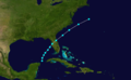 1873 Atlantic tropical storm 4 track.png