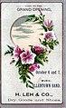 1882 - H Leh & Company -Trade Card - Allentown PA.jpg