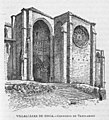 1885, España, sus monumentos y sus artes, su naturaleza e historia, Valladolid, Palencia y Zamora, Villalcázar de Sirga, Convento de Templarios, Xumetra.jpg