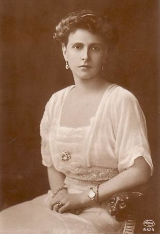 Princess Alice of Battenberg - Princess Andrew in 1906