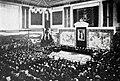 1900-11-17, Blanco y Negro, Congreso Iberoamericano, sesión inaugural del 10 de noviembre de 1900 en el Palacio de la Biblioteca y Museos Nacionales, Franzen.jpg