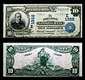 1902 - Ten Dollar Bill Allentown National Bank Allentown PA.jpg